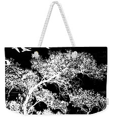 Silver Nights Weekender Tote Bag