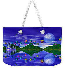 Silver Palace Weekender Tote Bag by Mark Blauhoefer