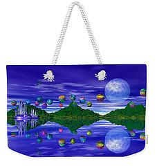 Silver Palace Weekender Tote Bag