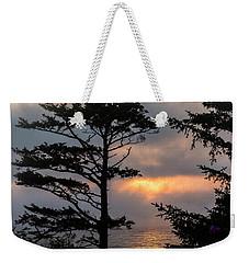 Silver Point Silhouette Weekender Tote Bag