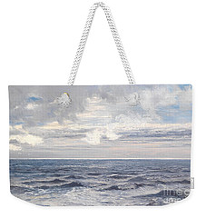 Silver Sea Weekender Tote Bag