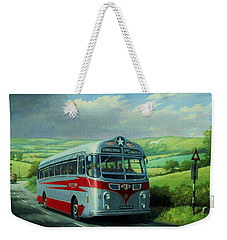 Silver Star Leyland Coach Weekender Tote Bag