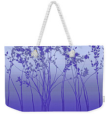 Silver Twilight Weekender Tote Bag