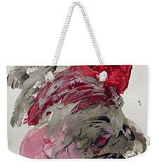Silver Wave With Beach Toys Weekender Tote Bag