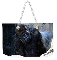 Silverback Kibabu Rules His Kingdom Weekender Tote Bag