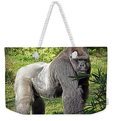 Silverback Weekender Tote Bag by Steven Sparks