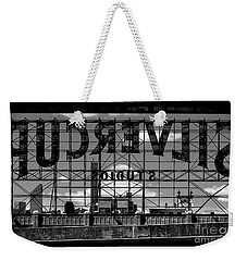 Silvercup Studios Sign Backside Weekender Tote Bag