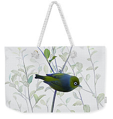 Silvereye Weekender Tote Bag