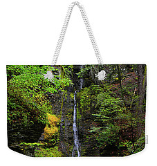 Weekender Tote Bag featuring the photograph Silverthread Falls by Raymond Salani III