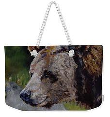 Silvertip Weekender Tote Bag