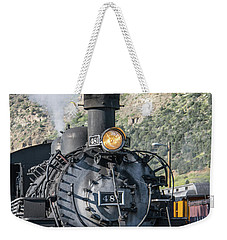 Weekender Tote Bag featuring the photograph Silverton Bound by Colleen Coccia
