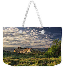 Simi Valley Overlook Weekender Tote Bag