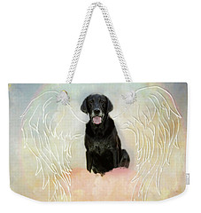Weekender Tote Bag featuring the digital art Simone by Sue Collura