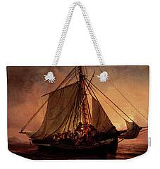 Simonsen Niels Arab Pirate Attack Weekender Tote Bag by Niels Simonsen