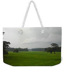 Simple Green Weekender Tote Bag by Rushan Ruzaick