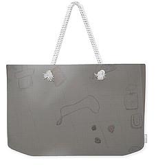 Simple Illustration Weekender Tote Bag