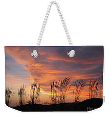 Weekender Tote Bag featuring the photograph Simple Joys by Chris Anderson