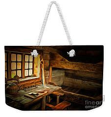 Simple Life Weekender Tote Bag