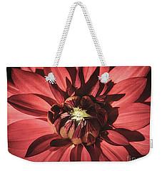 Simple Red Weekender Tote Bag