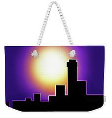 Simple Skyline Silhouette Weekender Tote Bag