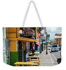 Simple Street View Weekender Tote Bag