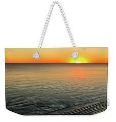Simple Sunset Weekender Tote Bag by Walt Foegelle