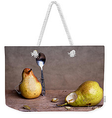Simple Things 14 Weekender Tote Bag by Nailia Schwarz
