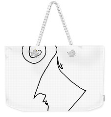 Simple Thought Weekender Tote Bag
