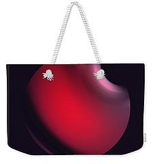 Weekender Tote Bag featuring the digital art Simplicity 12-2 by John Krakora