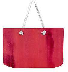 Simplicity Weekender Tote Bag by Irene Hurdle
