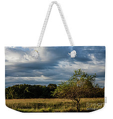 Weekender Tote Bag featuring the photograph Simplicity by Iris Greenwell