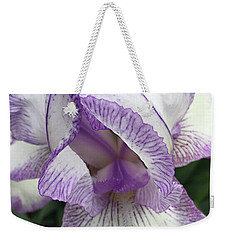 Weekender Tote Bag featuring the photograph Simply Beautiful by Sherry Hallemeier