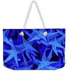 Weekender Tote Bag featuring the photograph Simply Blue Aloevera by Aimee L Maher Photography and Art Visit ALMGallerydotcom