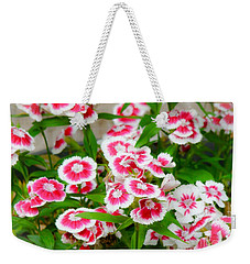 Simply Flowers Weekender Tote Bag by Rand Herron