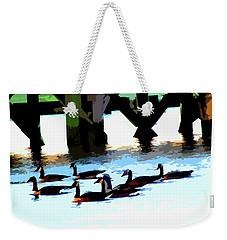 Simply Geese Weekender Tote Bag