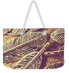 Simply Metallic Weekender Tote Bag
