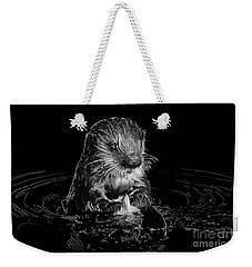 Simply Otter Weekender Tote Bag by Alice Cahill