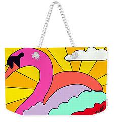 Simply Swan-sational Weekender Tote Bag