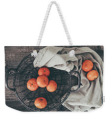 Weekender Tote Bag featuring the photograph Simply Sweet by Kim Hojnacki