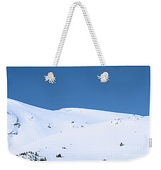 Weekender Tote Bag featuring the photograph Simply Winter by Juli Scalzi