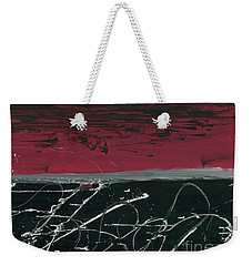 Simultanious Duality  Weekender Tote Bag by Talisa Hartley