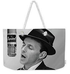 Sinatra Weekender Tote Bag by Paul Tagliamonte