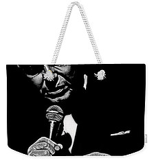 Sinatra W Sig Weekender Tote Bag by Dan Menta