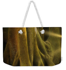 Weekender Tote Bag featuring the photograph Sinews by Richard Goldman