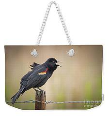 Sing A Little Song Weekender Tote Bag