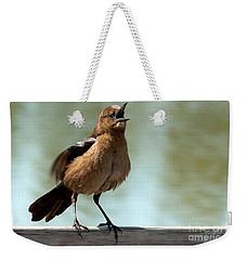 Sing Out Loud Weekender Tote Bag