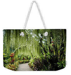 Singapore Orchid Garden Weekender Tote Bag by Jocelyn Kahawai