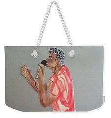 Singer Weekender Tote Bag