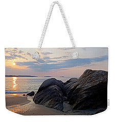 Singing Beach Rocky Sunrise Manchester By The Sea Ma Weekender Tote Bag