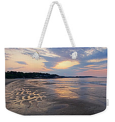 Singing Beach Sandy Beach Manchester By The Sea Ma Sunrise Weekender Tote Bag